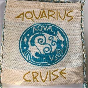 Aquarius Cruise Line Bag Cloth